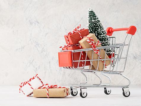 Christmas trolley