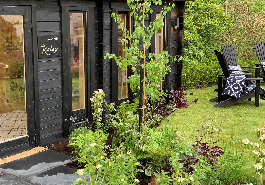 Love your Garden Wellness Hut Newport