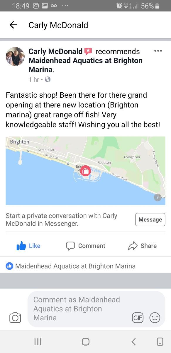 Brighton Marina Store reviews