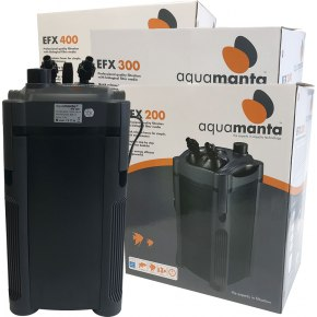 AquaManta EFX External Canister Filter (200/300/400/600)