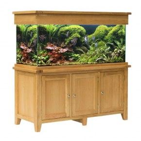 Aqua Oak 150cm Doors Aquarium (AQ150D)