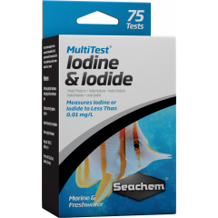 box of 75 tests for aquarium Iodine and Iodide
