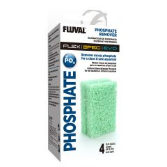 Fluval box, Phosphate remover sponge included.