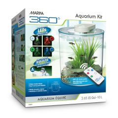 Marina 360 Aquarium LED 10L