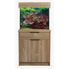 Aqua One OakStyle Aquarium and Cabinet Set (Nash Oak)
