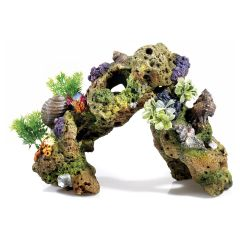 Lava plant arch, aquarium ornament