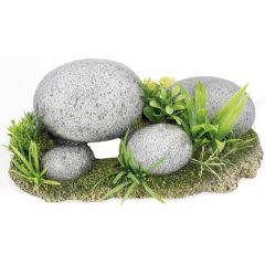 Pebble garden, aquarium ornament
