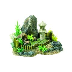 Zen garden, aquarium ornament