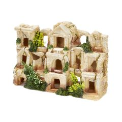 ancient ruins, aquarium ornament