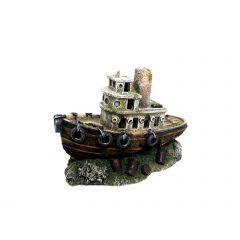 Aquarium Ornament Shipwreck