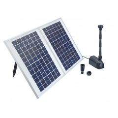 solar energy, pond pump