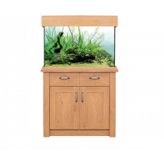 AquaOne OakStyle 145L Aquarium and Cabinet