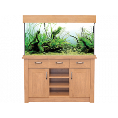 AquaOne OakStyle 230L Aquarium and Cabinet