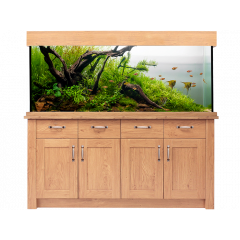 AquaOne OakStyle 300L Aquarium and Cabinet