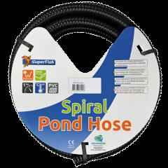 SuperFish Black Spiral Pond Hose (5 m)