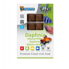 SuperFish Frozen Daphnia (100g)