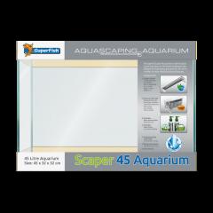 Superfish Scaper 45 Litre Aquarium Set