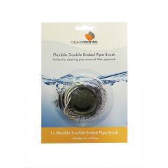 double ended pipe brush, for fliter cleaning.