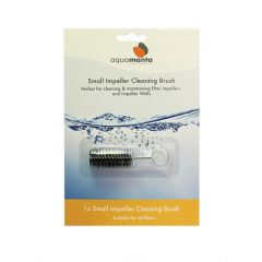 cleaning brush for filter impeller.