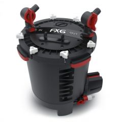 fluval fx6 external filter with red valves