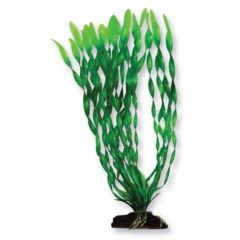 plastic aquarium plant, with base.