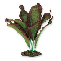 brown silk amazon aquarium plant.