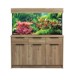 AquaOne OakStyle Home 230 Litre Aquarium and Cabinet