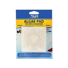spare white algae pad for acrylic aquariums.