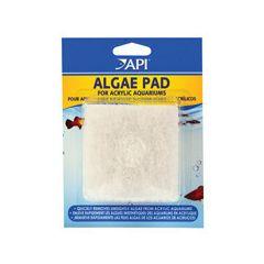 spare white algae pad for acrylic aquariums.