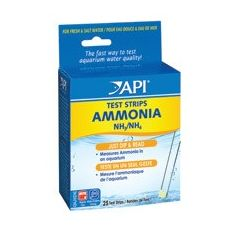 box of API ammonia test strips.