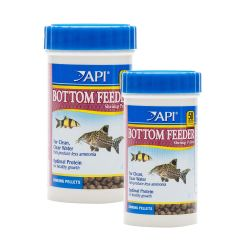 API Complete Nutrition Aquarium Bottom Feeder Fish Food Sinking Pellets