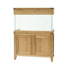 100cm aqua oak aquarium with stand and hood