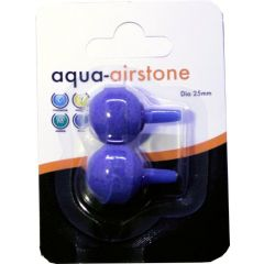 round airstone by aqua range. Diameter 25mm
