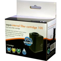 Internal fliter cartridge 100- for aqua range filter.