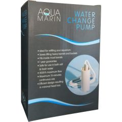 Aqua Marin aquarium water change pump in box