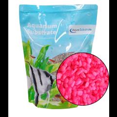 Aqua Range 'Aqua-Substrate' Gravel - Neon Pink 2kg