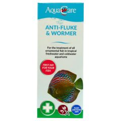 fluke and worm treatment for aquariums by aquacare