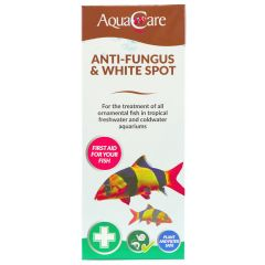 AquaCare Anti-Fungus & White Spot treatment in box