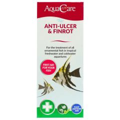 AquaCare Anti-Ulcer & Finrot 100ml box