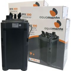 aquamanta external filter in the box