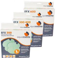 AquaManta EFX Standard External Filter Phosphate Pad 2 Pack