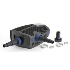 aquamax eco premium pond pump with hosetails and fittings