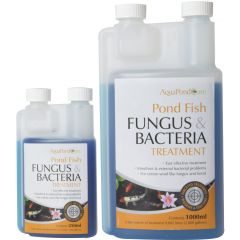 pond fish treatment, fungus, bacteria treatment