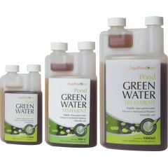 green water treatment, pond treatments, pond care