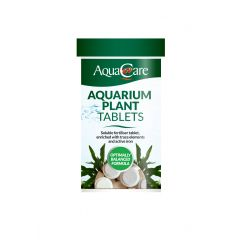 tub of aquarium plant tablets, by Aqua Care.
