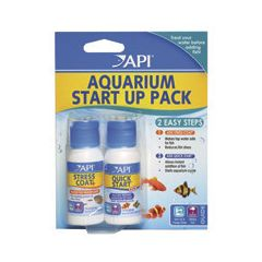 API, aquarium starter pack. 2 bottle, 2 step pack.