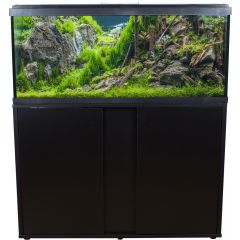 AquaTropic 160 Tropical Aquarium and Cabinet Set