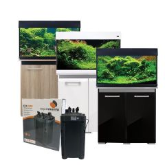 Aqua One AquaVogue 135L Aquarium and Cabinet with Exclusive External Filter and Heater