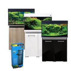 Aqua One AquaVogue 135L Aquarium and Cabinet with Internal Filter and Heater