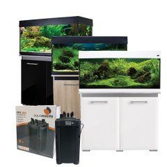 Aqua One AquaVogue 170L Aquarium and Cabinet with Exclusive External Filter and Heater